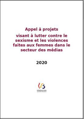 Appel à projets 2020 « visant à lutter contre le sexisme et les violences faites aux femmes dans le secteur des médias »