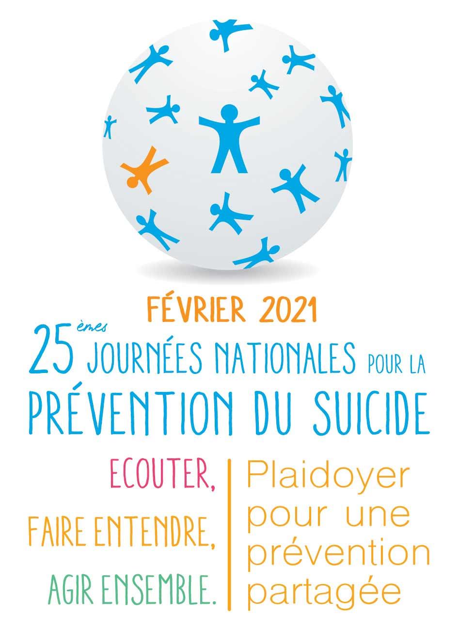 25e journées nationales pour la prévention du suicide - Février 2021 - France