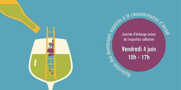 Réduction des dommages associés à la consommation d'alcool : Une journée d'échanges (en ligne) autour l'expertise collective Inserm ce vendredi 4 juin de 10h à 17h.